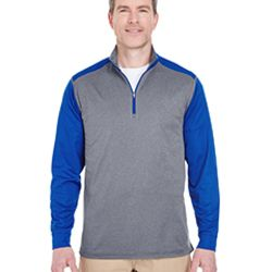 Adult Cool & Dry Sport Two-Tone Quarter-Zip Pullover Thumbnail