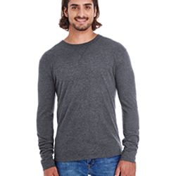 Men's Heather Sueded Long-Sleeve Jersey Thumbnail