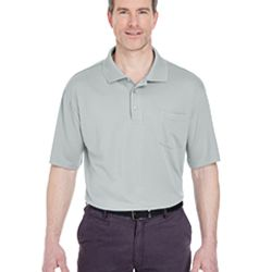 Adult Cool & Dry Sport Polo with Pocket Thumbnail