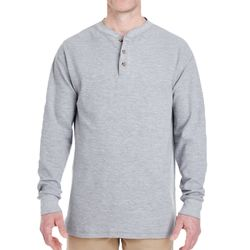 Adult Mini Thermal Henley Thumbnail
