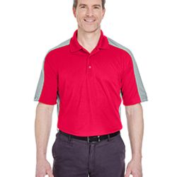 Adult Cool & Dry Stain-Release Two-Tone Performance Polo Thumbnail