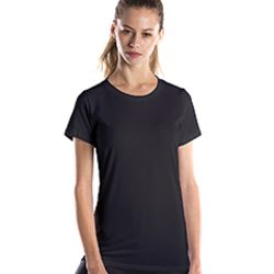 Ladies' 4.5 oz. Short-Sleeve Garment-Dyed Jersey Crew Thumbnail