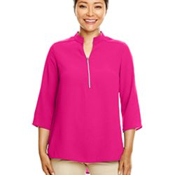 Ladies' Perfect Fit™  3/4-Sleeve Crepe Tunic Thumbnail