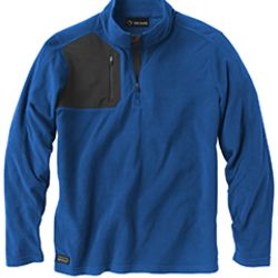 Men's 100% Polyester Nano Fleece TM 1/4 Zip Interval Pullover Thumbnail