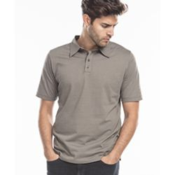 Men's Jersey Interlock Polo T-Shirt Thumbnail