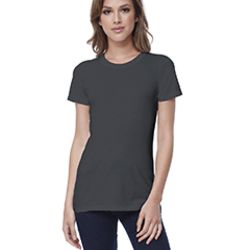 Ladies' Cotton Crew Neck T-shirt Thumbnail