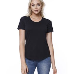Ladies' CVC Melrose High Low T-shirt Thumbnail