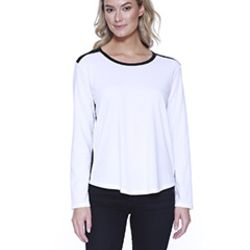 Ladies' CVC Melrose Long-Sleeve T-Shirt Thumbnail