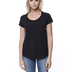 Ladies' CVC Loose Short-Sleeve Raglan Thumbnail