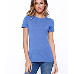 Ladies' Triblend Crew Neck T-Shirt Thumbnail