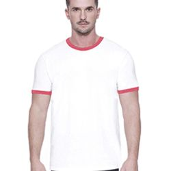 Men's CVC Ringer T-Shirt Thumbnail