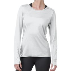 Ladies' Endurance Long-Sleeve T-Shirt with Back Mesh Insert Thumbnail