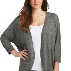 ® Ladies Marled Cocoon Sweater Thumbnail