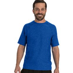 Men's Hit Short Sleeve T-Shirt with Back Mesh Panel Thumbnail