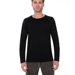 Men's CVC Long-Sleeve Raglan Thumbnail