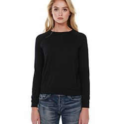 Ladies' 3.5 oz., Cotton/Poly Everyday Long-Sleeve T-Shirt Thumbnail