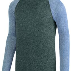Adult Kinergy Two-Color Long-Sleeve Raglan T-Shirt Thumbnail