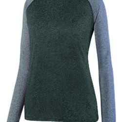 Ladies' Kinergy Two-Color Long-Sleeve Raglan T-Shirt Thumbnail