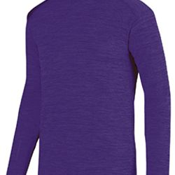 Adult Shadow Tonal Heather Long-Sleeve Training T-Shirt Thumbnail