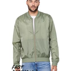 Fast Fashion Unisex Lightweight Bomber Jacket Thumbnail
