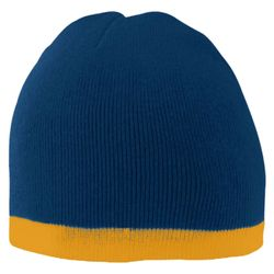 Two-Tone Knit Beanie Thumbnail