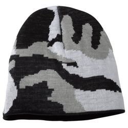 USA-Made Camouflage Knit Beanie Thumbnail