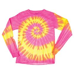 Youth Wave Tie Dye Long Sleeve Thumbnail