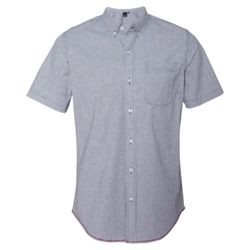 Stretch-Stripe Short Sleeve Shirt Thumbnail