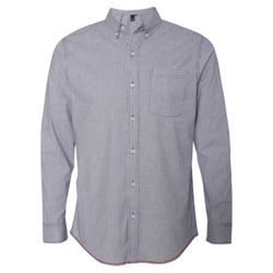Stretch Stripe Long Sleeve Shirt Thumbnail