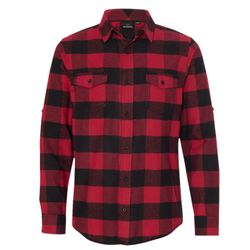 Yarn-Dyed Long Sleeve Flannel Shirt Thumbnail
