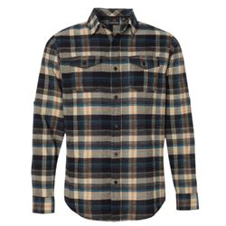 Men's Plaid Flannel Shirt Thumbnail