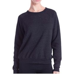 Ladies' Raglan Pullover Long Sleeve Crewneck Sweatshirt Thumbnail