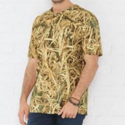 Men's Camouflage Crew Neck T-Shirt Thumbnail