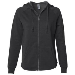 Women's California Wave Wash Full-Zip Hooded Sweatshirt Thumbnail