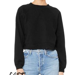 Fast Fashion Women's Raglan Pullover Fleece Thumbnail