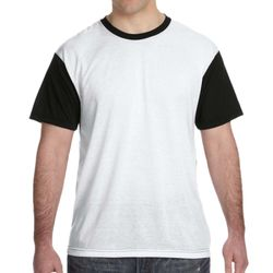 Men's Blackout Sublimation Polyester T-Shirt Thumbnail