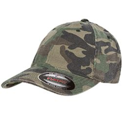 Adult Cotton Camouflage Cap Thumbnail