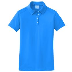 NIKE Ladies Dri FIT Pebble Texture Polo Thumbnail
