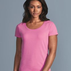 Softstyle Women's Deep Scoopneck T-Shirt Thumbnail