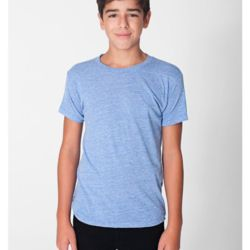 American Apparel Youth Tri-Blend Short Sleeve T-Shirt Thumbnail
