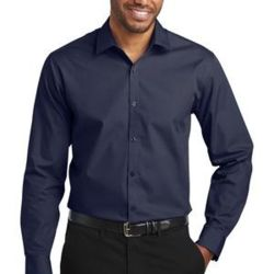 Slim Fit Carefree Poplin Shirt Thumbnail