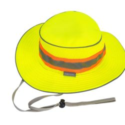 HA15 - PORTWEST FULL BRIM REFLECTIVE HI VIZ RANGER HAT As Low As $8.55 Embroidered Thumbnail