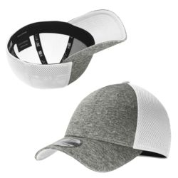 New Era Shadow Silhouette Stretch Fit Mesh-back Cap NE702 ON SALE  $13.75 each at 72 with 6,000 stit Thumbnail