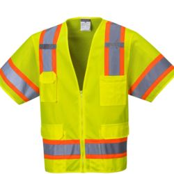 Portwest Aurora Sleeved Hi-Vis Safety Vest Thumbnail