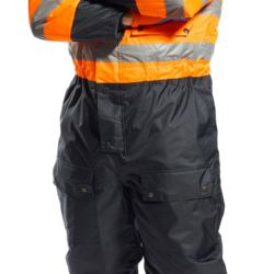 S485 HI-VIS CONTRAST COVERALL Thumbnail