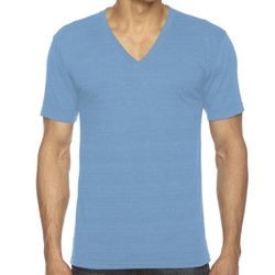 American Apparel Unisex Tri-Blend Short Sleeve V-Neck T-Shirt Thumbnail