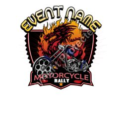Motorcycle rally Template Thumbnail
