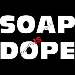 Soap Is Dope Text Thumbnail