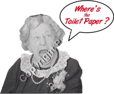 Where's the Toilet Paper -2