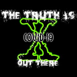 The Truth Is Out There X Files COVID-19 Cornavirus Pandemic Tshirt Design Thumbnail